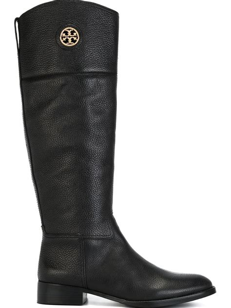 burch knee high boots in black lyst