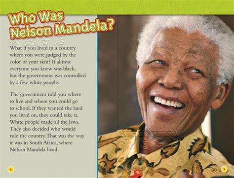 nelson mandela national geographic 1426317638 national geographic kids national geographic readers nelson mandela 全新正版產品 歌德英文書店