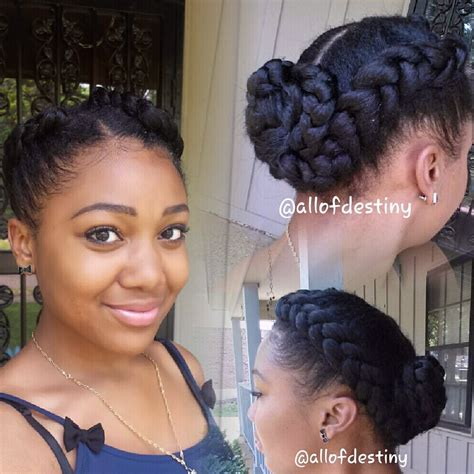 natural hairstyles two buns cute braided low bun video low buns natural and hair style