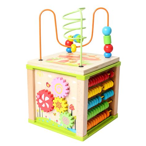 Stroller Babyelle New Cube S372 Ready Stock multifunction 5 in 1 wooden toys activity educational toys creative toys