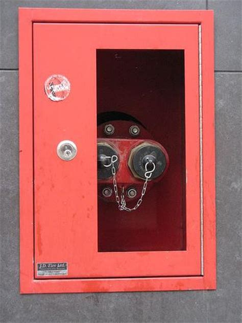 Standpipe Cabinet by High Rise Fighting Risers