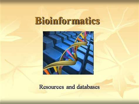 Bioinformatics Resources Authorstream Bioinformatics Ppt Templates Free