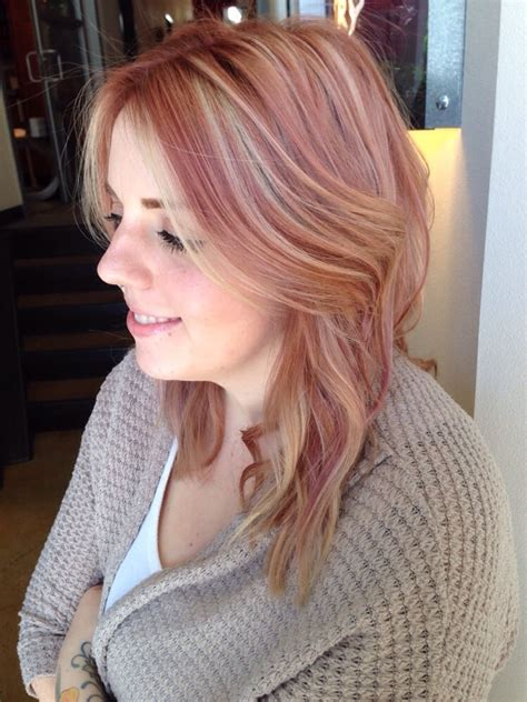 Bloude Dusty Pink dusty with highlights yelp