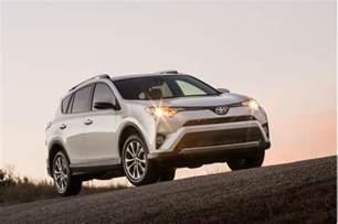 Toyota Rav4 Vs Honda Cr V 2017 Toyota Rav4 Vs 2017 Honda Cr V Compare Cars