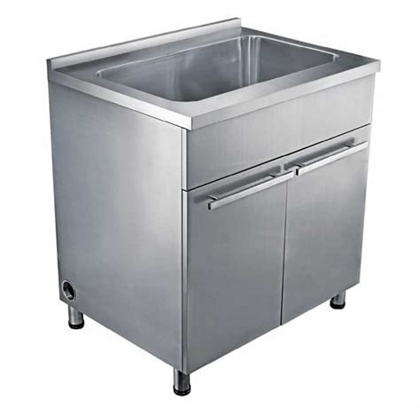 stainless steel sink base cabinet dawn ssc3636 single bowl stainless steel sink base cabinet