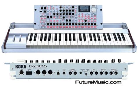 Update Keyboard Korg korg updates radias operating system to version 2 0 futuremusic the news on future