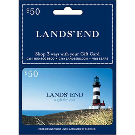 Lands End Gift Cards - lands ft end 25 gift card apparel seasonal gifts shop the exchange