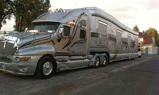 luxury motor homes kenworth t 2000 badass caravan