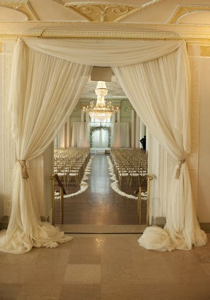 drapery wedding dreamy drapes using fabric draping at your wedding