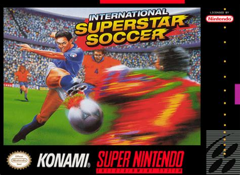 play international superstar soccer nintendo super nes