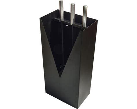 kaminbesteck design kaminbesteck trend 3 teilig schwarz f 252 r boden oder