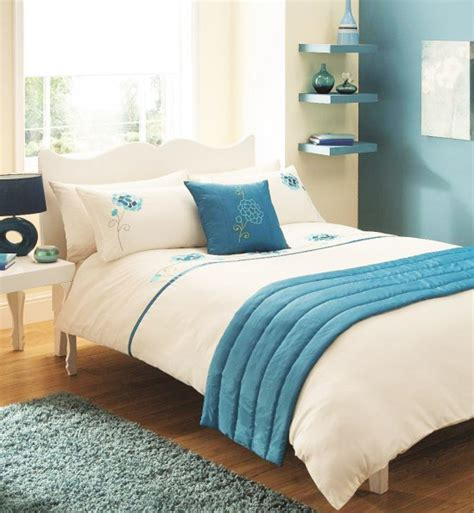 Teal And White Bedding by Bed In A Bag 5pc Bedding Duvet Quilt Cover Set Vogue