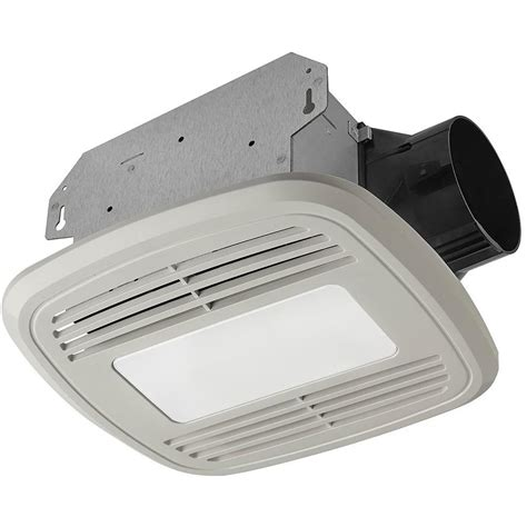 utilitech bathroom fan with light shop utilitech 1 5 sone 80 cfm white bathroom fan energy
