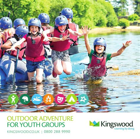 2013 14 kingswood outdoor adventure for youth groups by