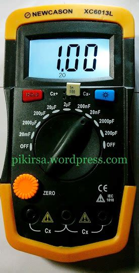 Multitester Heles Sp 860 user manual untuk newcason xc6013l digital capacitance