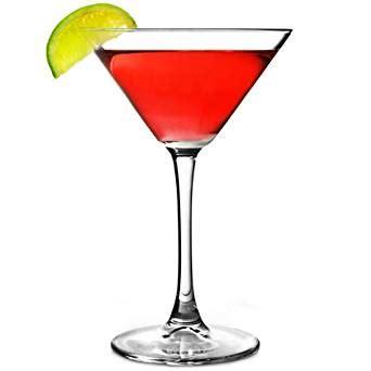 amazon.com: enoteca martini glasses 7.4oz / 210ml set of