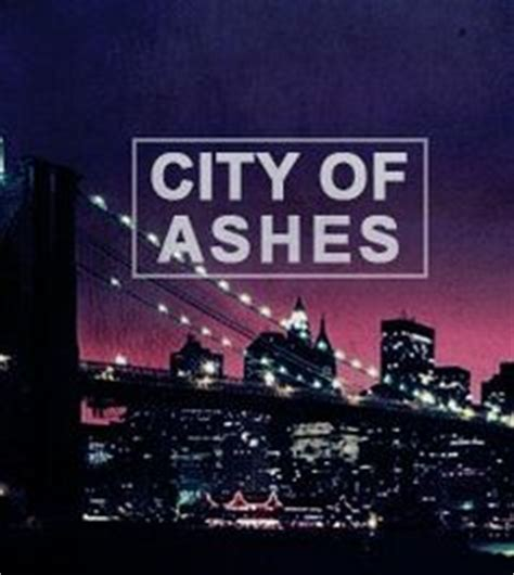 city of ashes on the mortal instruments