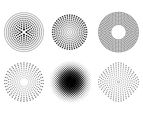 halftone dot pattern vector 12 free vector dot patterns images free vector halftone