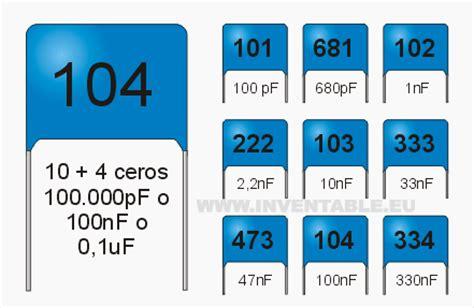 capacitor ceramico 104 valor entendiendo los capacitores parte 1 aprender electronica
