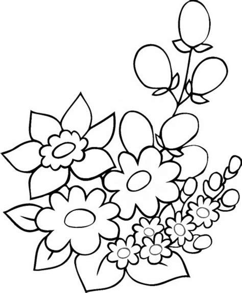 imagenes de flores animadas para colorear imagenes de dibujos para colorear de jarrones con flores