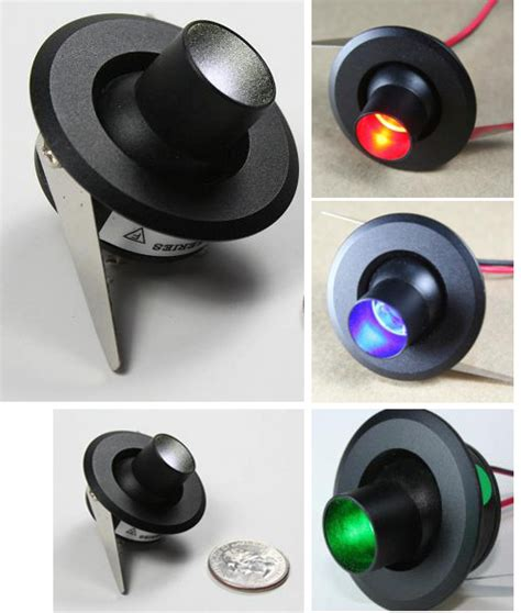 12 volt led aircraft landing lights mini eyeball 1 watt led 12volt from aircraft spruce europe