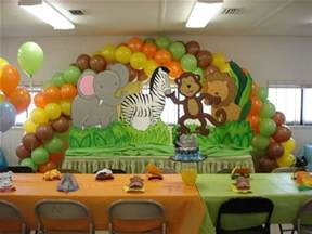 Decorating Ideas For Baby Shower Jungle Theme Jungle Theme Baby Shower Cakes Effective Ideas Baby
