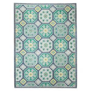 Outdoor Area Rugs Target Threshold Indoor Outdoor Flatweave Mosaic Rug Target