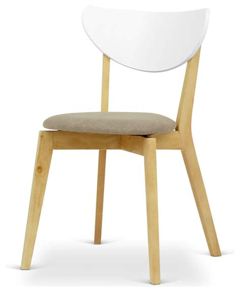 naida fabric dining chair scandinavian dining chairs