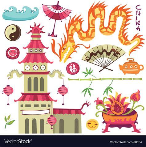 set of oriental design elements stock vector image 22896967 oriental set of design elements royalty free vector image