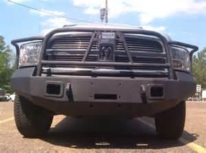 Dodge Ram 1500 Bumper Guard Hammerhead 600 56 0077 Winch Bumper With Grille Guard