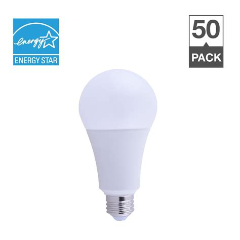 150w Equivalent Led Light Bulb Simply Conserve 50 100 150w Equivalent Soft White 2700k A21 Energy And Dimmable 25 000 Hour