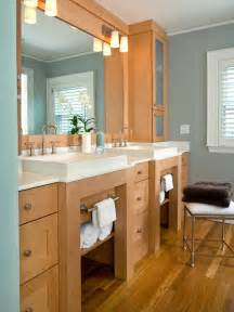 Bathroom Vanities With Storage 18 Savvy Bathroom Vanity Storage Ideas Bathroom Ideas Designs Hgtv