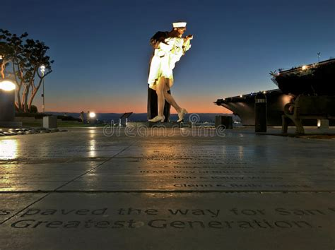 along with the gods san diego unconditional surrender statue along the san diego harbor