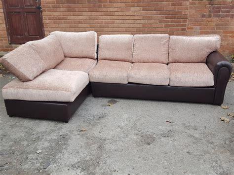 very small corner sofa brand new very very large corner sofa brown and beige