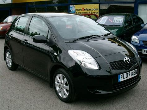 Toyota Yaris Black For Sale Toyota Yaris 2007 Black Www Pixshark Images