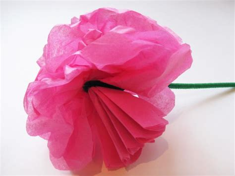 Tissue Paper Flowers With Children - 10 ways to make tissue paper flowers guide patterns