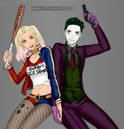 Baju Anime Harley Quin 01 harley quinn anime images search