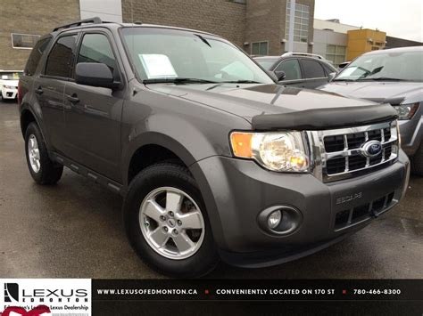 ford escape grey used grey 2012 ford escape 4wd xlt review athabasca