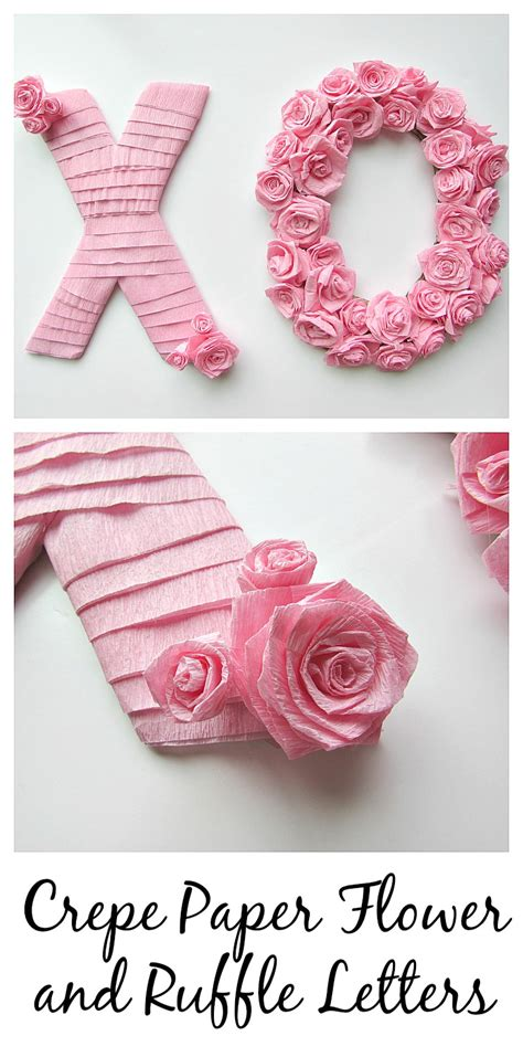 Really Cool Bedroom Ideas crepe paper flower and ruffle letters val event gal