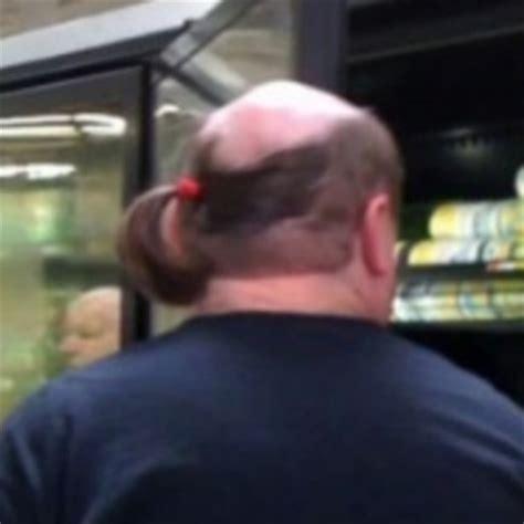 ponytails for bald men bald ponytail pics motorcycle jackets from tokyo punker