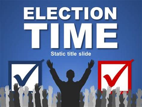 powerpoint templates for election posters image gallery election time