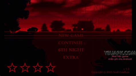 mod game kinh di five nights at freddy s 4 v1 1 full mod game kinh dị