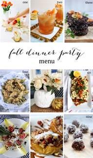 fall dinner menu entertaining fall dinner menu sequins at breakfast