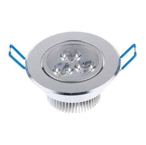 selling cree 9w led ceiling light silver shell 650