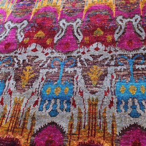 silk sari rug sari aruba silk rug the rug establishment