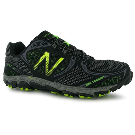 all terrain running shoes new balance mens 810v3 trail running shoes trainers