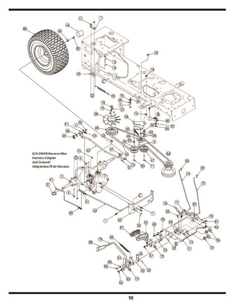 huskee lawn tractor parts diagram huskee lawn tractor parts manual imageresizertool