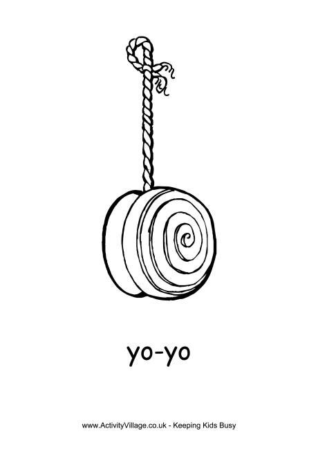 free coloring pages yoyo yo yo colouring page it s national yo yo day