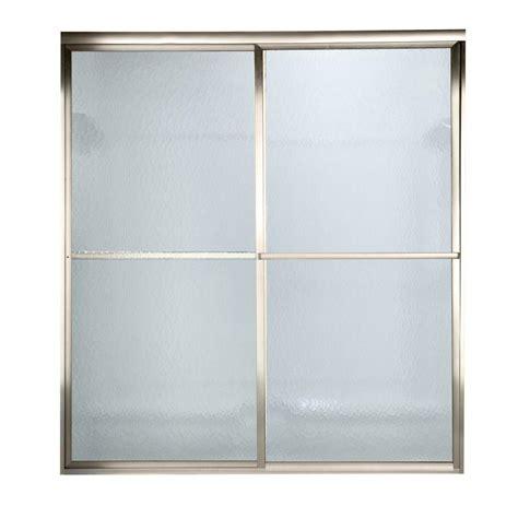 Standard Glass Shower Door American Standard Prestige 72 In X 58 1 2 In Height