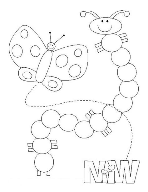 caterpillar and butterfly 2 coloring page supercoloring com 6 images of stages of caterpillar to butterfly coloring